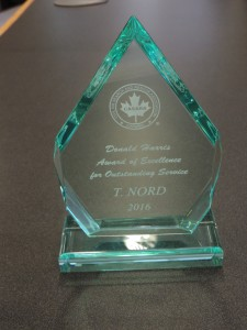 Terry Nord's Award 2016